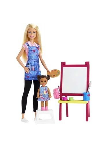 Barbie Barbie ve Meslekleri Oyun Setleri DHB63- Renkli